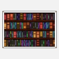 Old Bookshelves Banner