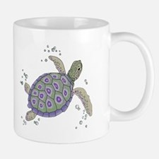 Swimming Sea Turtle Mug