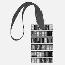 Modern Bookshelf Luggage Tag