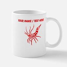 Personalized Red Shrimp Mug