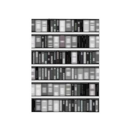 Modern Bookshelf 5'x7'Area Rug