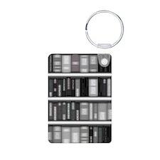 Modern Bookshelf Keychains