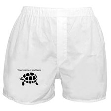 Personalized Black Turtle Boxer Shorts