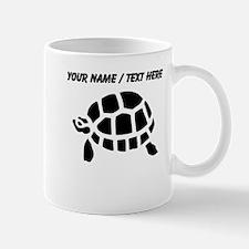 Personalized Black Turtle Mug