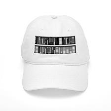 Modern Bookshelf Baseball Baseball Cap