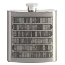 Modern Bookshelf Flask