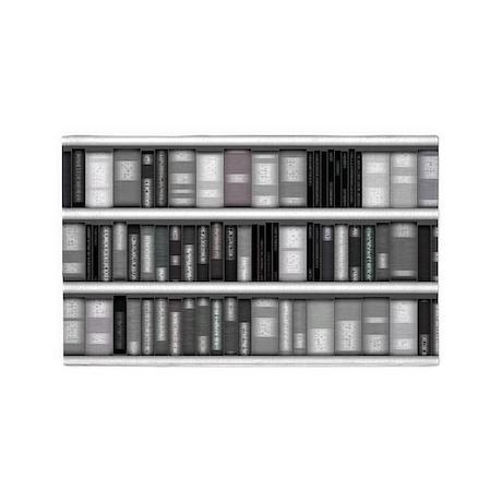Modern Bookshelf 3'x5' Area Rug