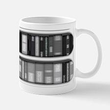 Modern Bookshelf Mug