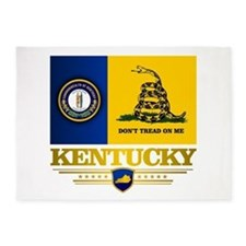 Kentucky Gadsden Flag 5'x7'Area Rug