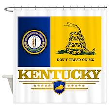 Kentucky Gadsden Flag Shower Curtain