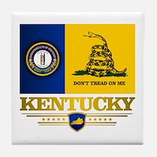 Kentucky Gadsden Flag Tile Coaster