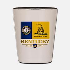 Kentucky Gadsden Flag Shot Glass
