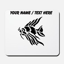 Personalized Black Tiger Fish Mousepad