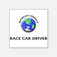 World's Sexiest Race Car Driver Sticker