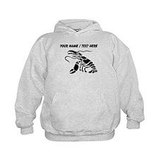 Personalized Black Lobster Hoodie