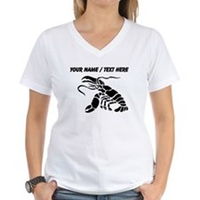 Personalized Black Lobster T-Shirt