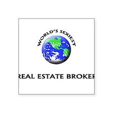 World's Sexiest Real Estate Broker Sticker