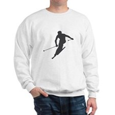 Downhill Skiing Sweatshirt