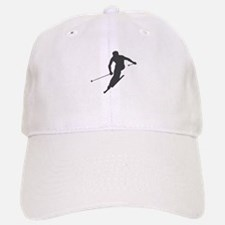 Downhill Skiing Baseball Baseball Cap