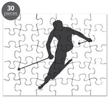 Downhill Skiing Puzzle