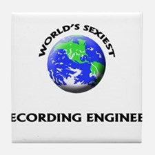 World's Sexiest Recording Engineer Tile Coaster