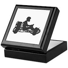 Go Kart Racing Keepsake Box