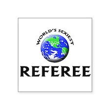 World's Sexiest Referee Sticker
