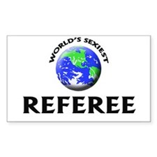 World's Sexiest Referee Decal
