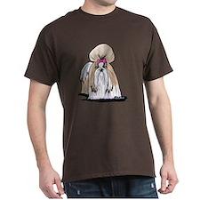 KiniArt Shih Tzu Show Girl T-Shirt