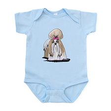 KiniArt Shih Tzu Show Girl Infant Bodysuit