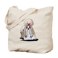 KiniArt Shih Tzu Show Girl Tote Bag