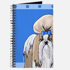 KiniArt Shih Tzu Blue Journal