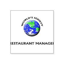 World's Sexiest Restaurant Manager Sticker