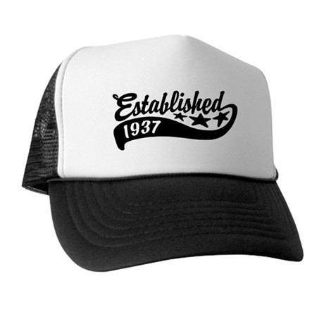 Established 1937 Trucker Hat