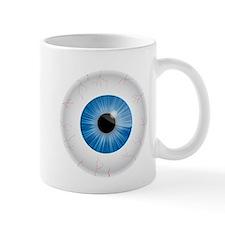 Bloodshot Blue Eyeball Mug