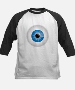 Bloodshot Blue Eyeball Baseball Jersey