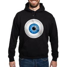 Bloodshot Blue Eyeball Hoodie