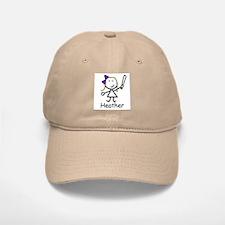 Softball - Heather Baseball Baseball Cap