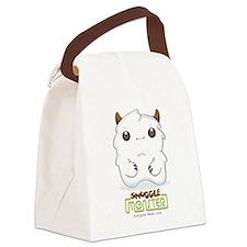 Cute Yeti Canvas Lunch Bag