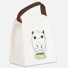 Cute Yeti Canvas Lunch Bag