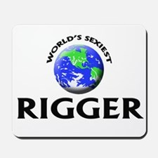 World's Sexiest Rigger Mousepad