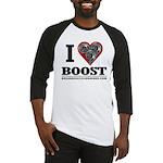 I Heart Boost - Baseball Shirt