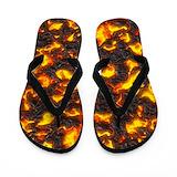 Volcano Flip Flops