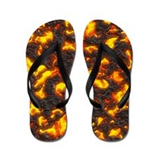 Hot Lava Flip Flops