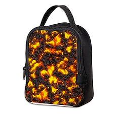 Hot Lava Neoprene Lunch Bag