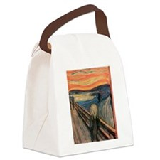 scream shirt Canvas Lunch Bag