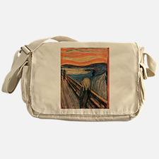 scream shirt Messenger Bag