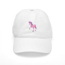 Pink Unicorn Baseball Baseball Cap
