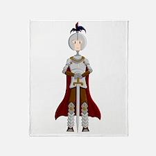 Knight Throw Blanket