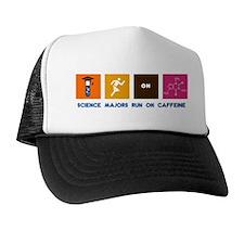 Science Majors Run On Caffeine Trucker Hat
